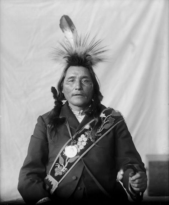 CHIPPEWA MAN , 1899