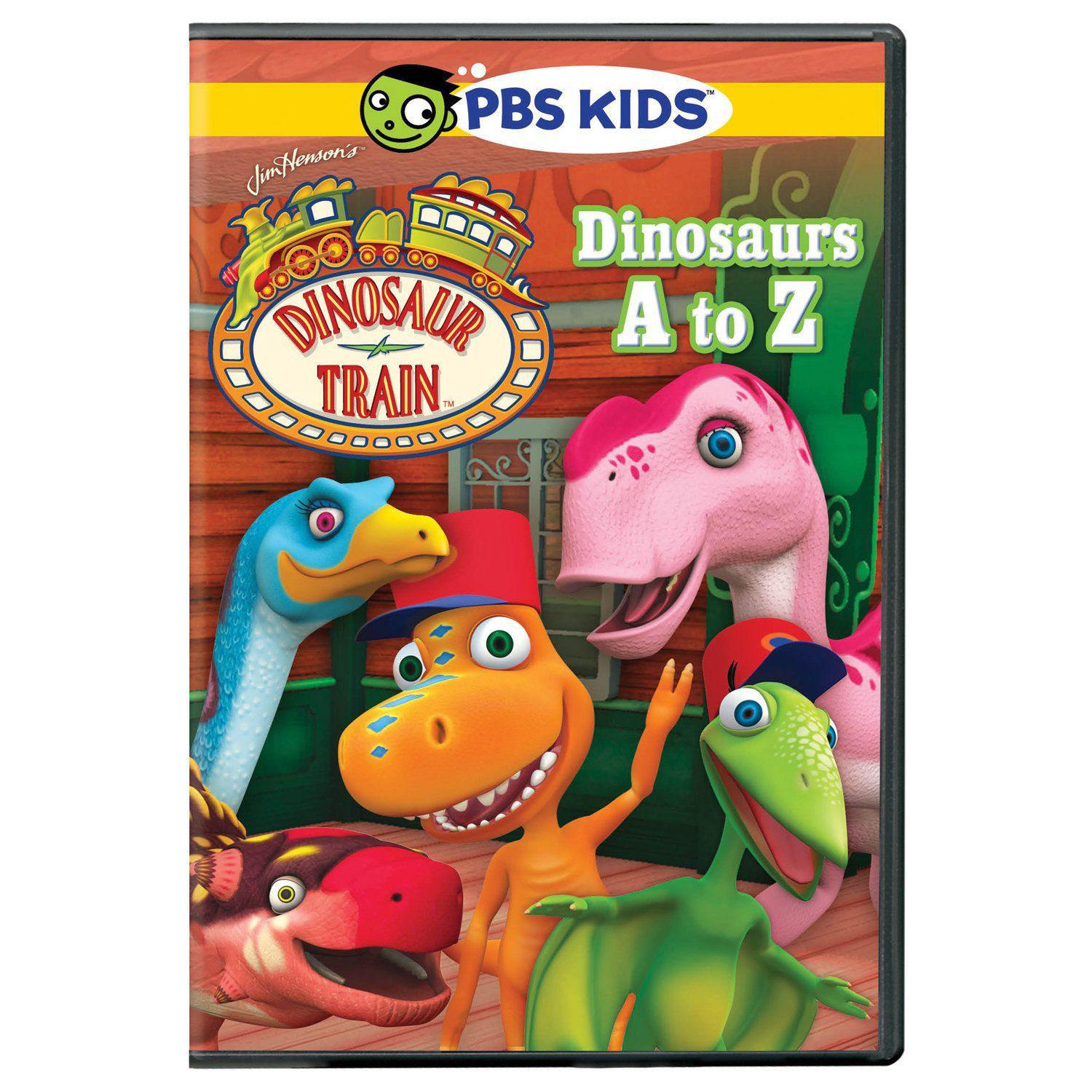 Travel on the Dinosaur Train with Buddy, Mom, and Tiny to gather all the dinosaurs in the