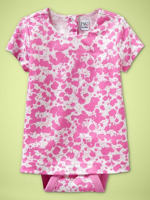 Pyret Blooming Tiered Tunic Baby Polarn O