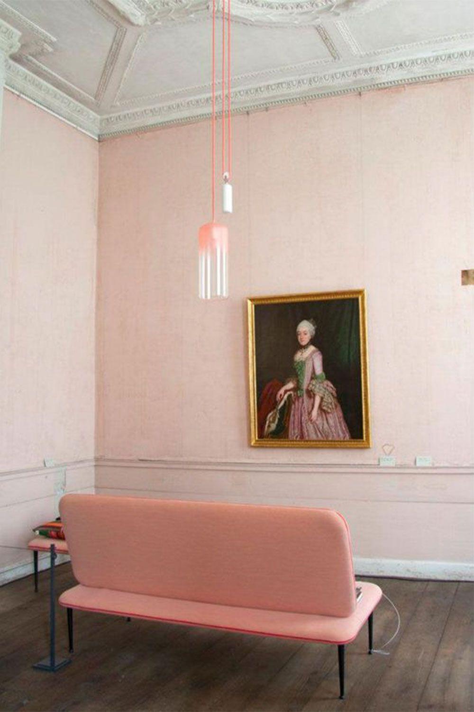 Wohndesign innenraum think pink  walls  pinterest  haus design und farben
