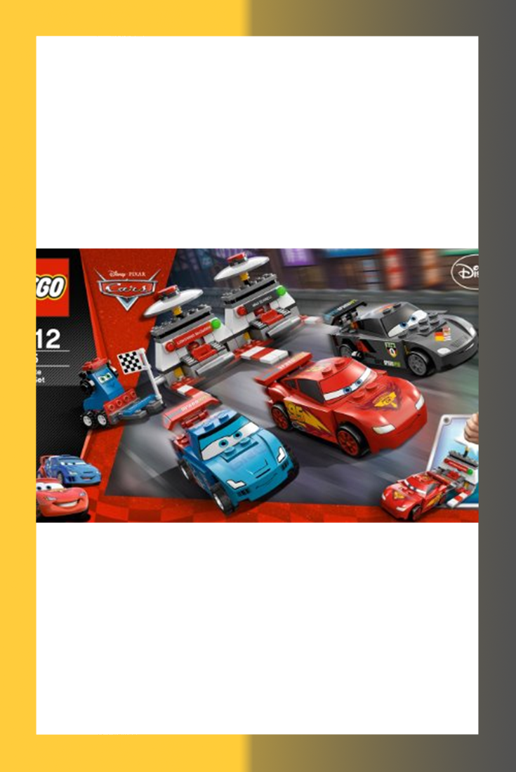LEGO Cars The Pit Stop 5829 Toys & Games
