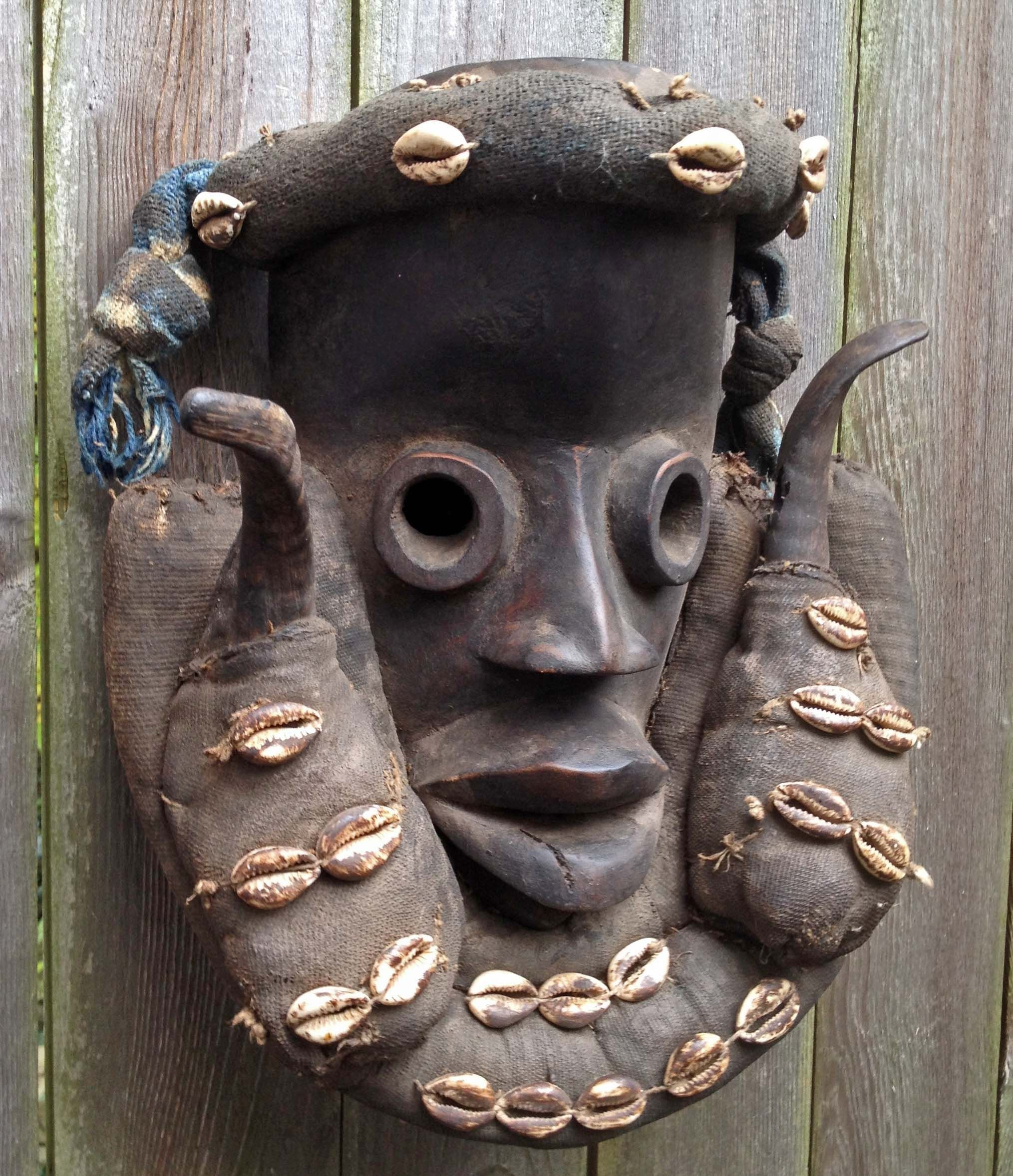 MASK,DAN,TRIBE,CARVED,WOOD,FABRIC,FIBER,BEARD,IVORY,COAST,LIBERIA,AFRICA,MASK,MAGIC,