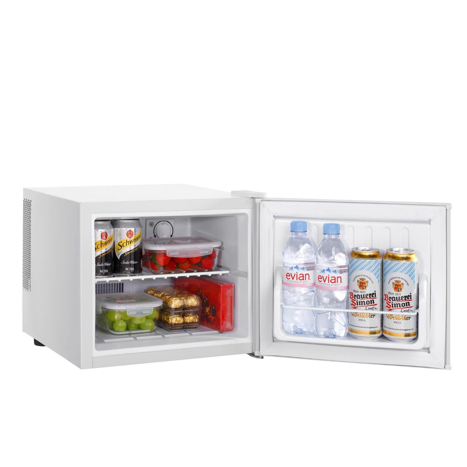 Vonshef 17 Litre White Travel Fridge Table Top Bar Compact Mini