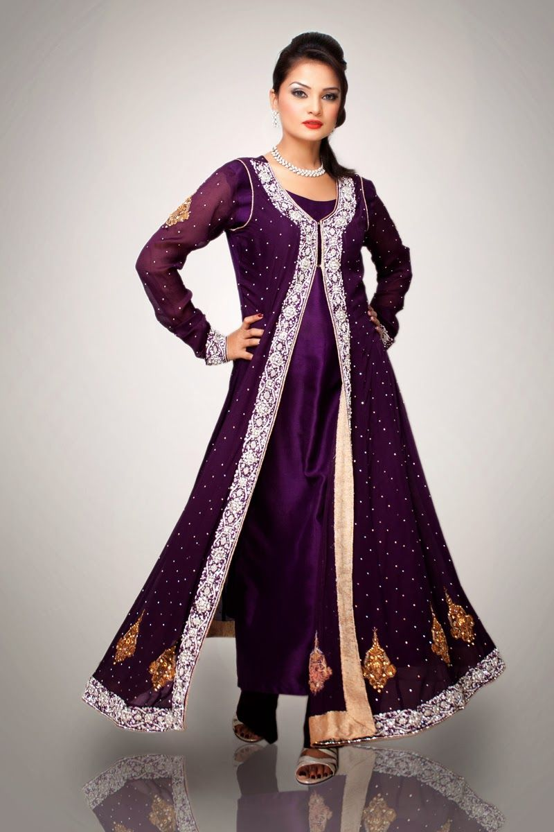 Double shirt dress design - Pakistani Dresses Google Search