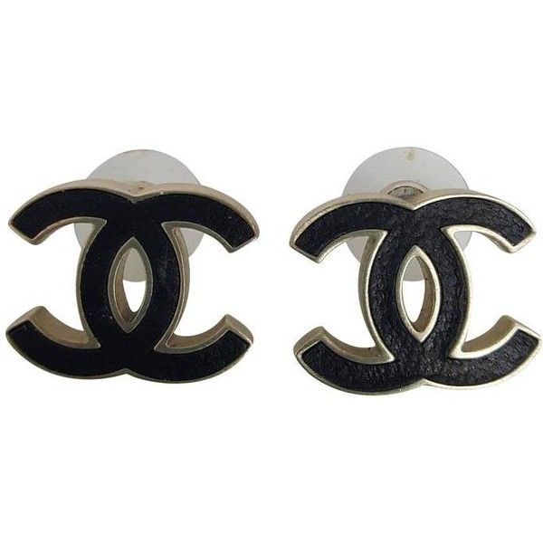 7b01fd4a2 Preowned Chanel Black And Soft Gold