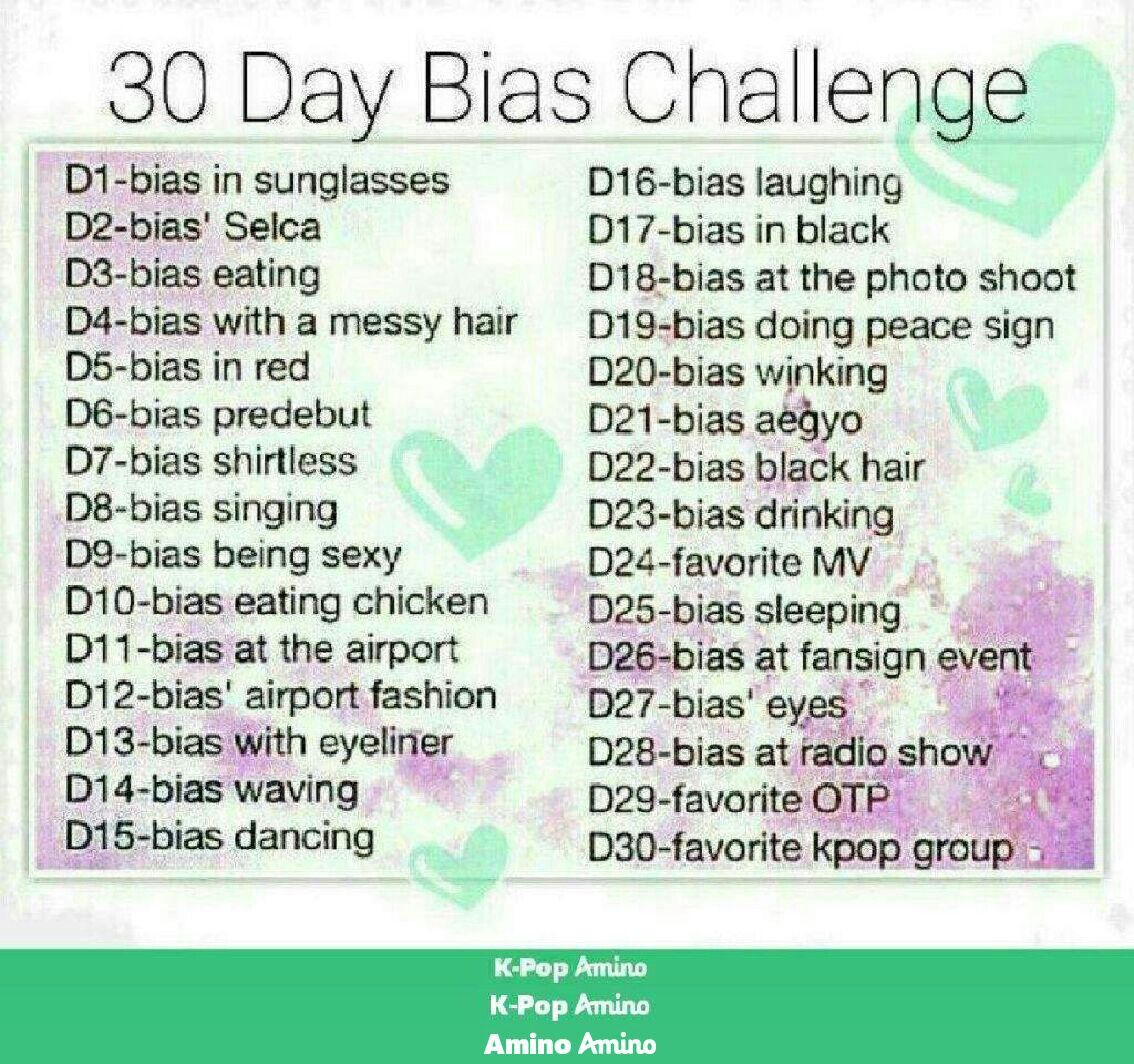 30 Day Bias Challenge Drawing Challenge Challenges Journal Challenge