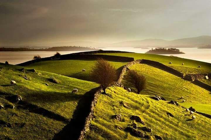 Lough Corrib. Co. Galway. Ireland