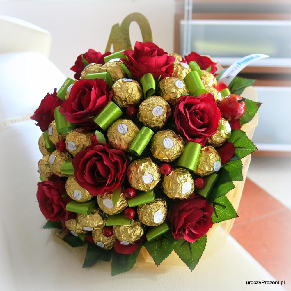 Bukiety Z Cukierkow Uroczyprezent Pl Sweet Bouquet Inspirational Gifts Diy Gift