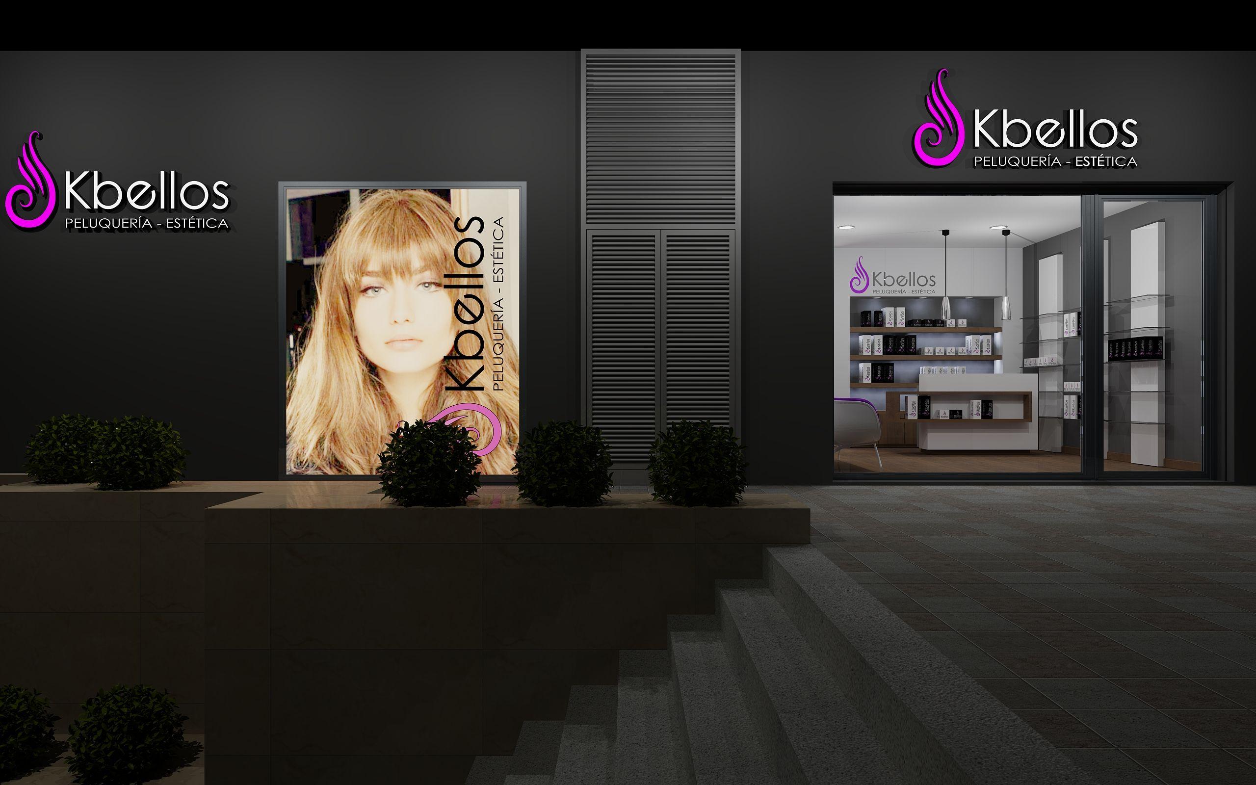 Proyecto integral de interiorismo de sal n de peluquer a y for Peluqueria y salon de belleza