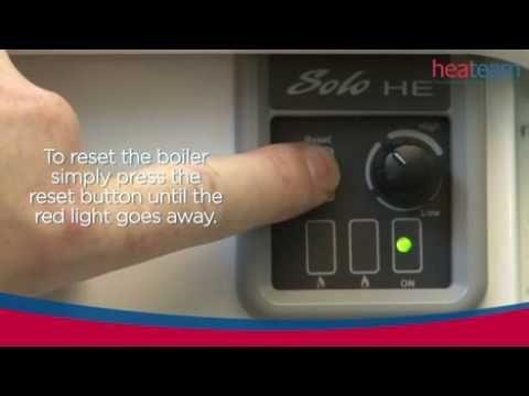 How to reset a Baxi Group boiler with the reset button | Baxi ...