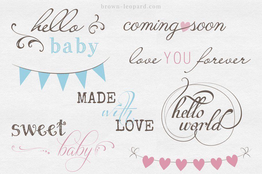 Newborn Photo Overlays vol. 2 #Sponsored , #Affiliate, #phrases#great#newborn#vol