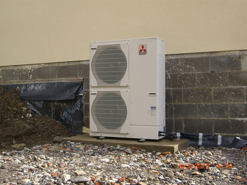 Heat Pump Case Studies Air Source Heat Pump in Welsh New