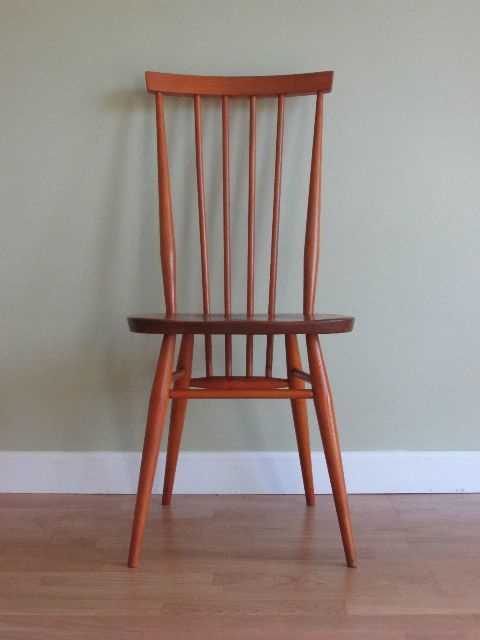 Vintage Ercol Windsor kitchen/dining chair for dining room, home decor, vintage 1950s 1960s.
