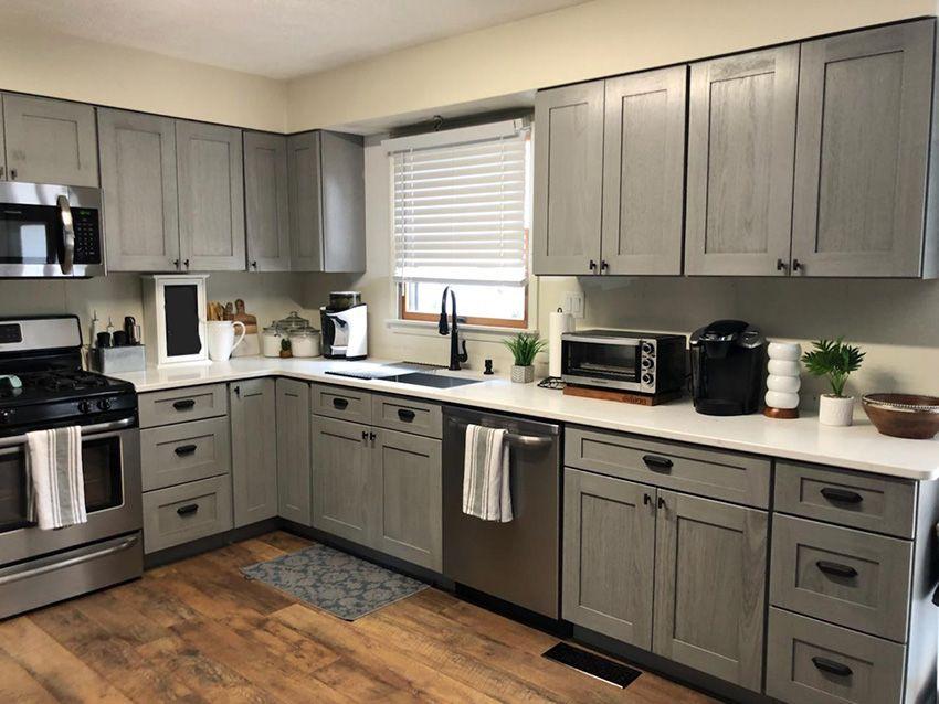 Best Nova Light Gray Kitchen Cabinets Light Grey Kitchen 640 x 480