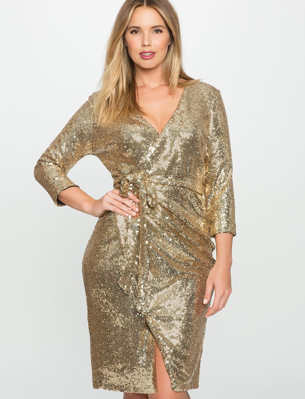 Sequin Size dresses forecasting to wear in spring in 2019