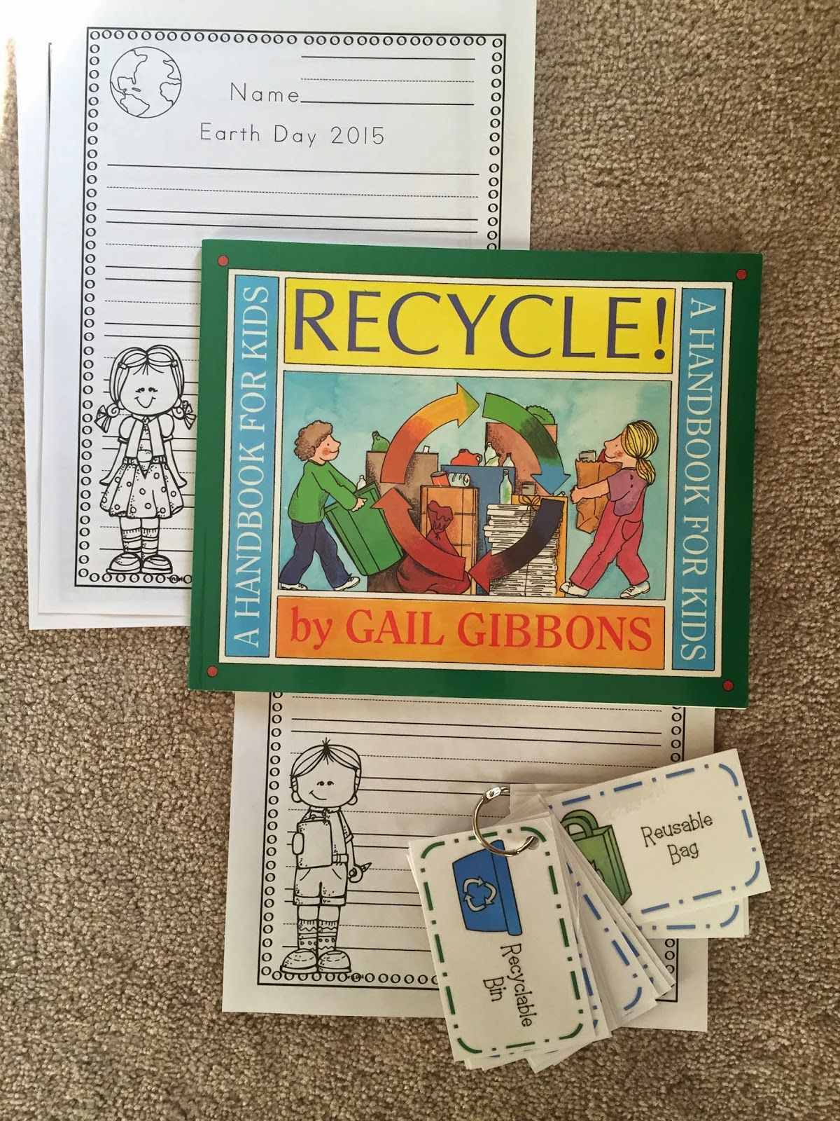 Free Earth Day Cards Amp Writing Pages Preschool