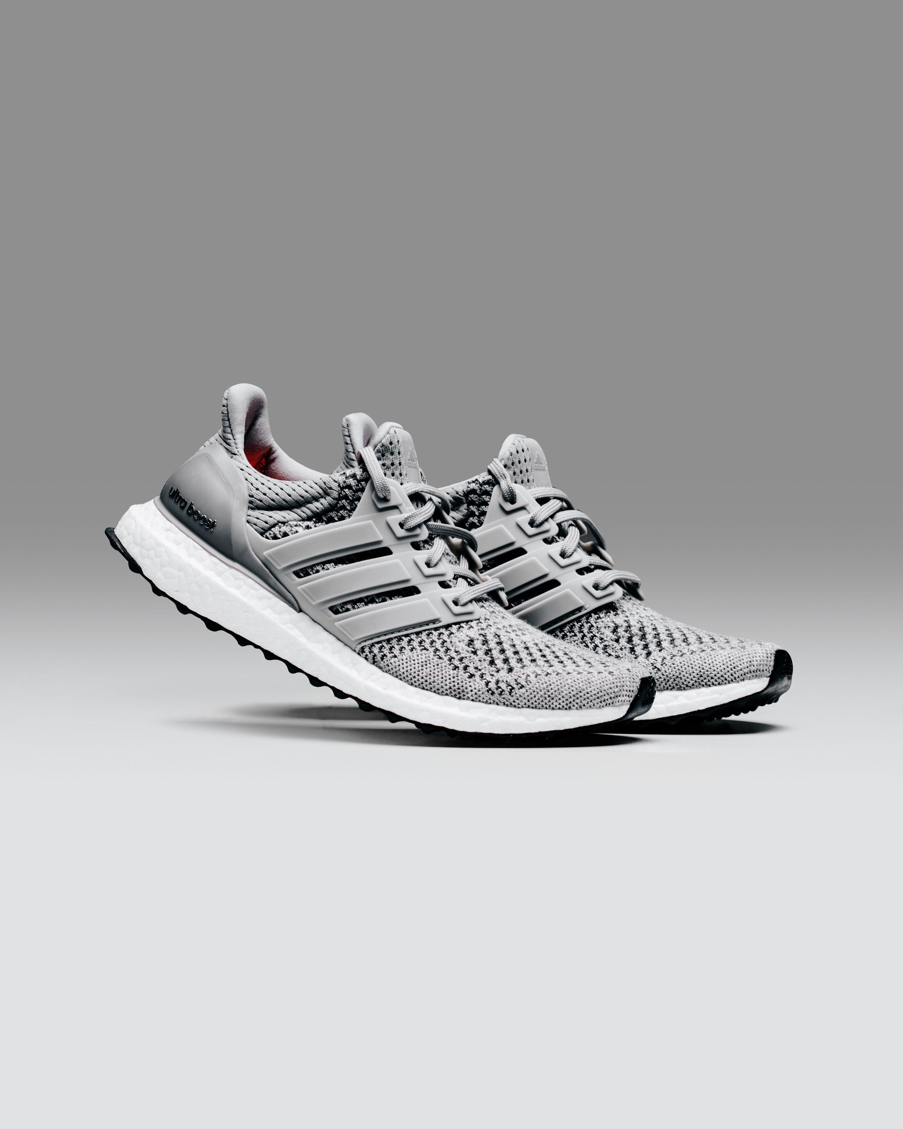 Adidas Originals 'Grey Fleece' Ultra Boost #Adidas #UltraBoost #Fashion  #Streetwear
