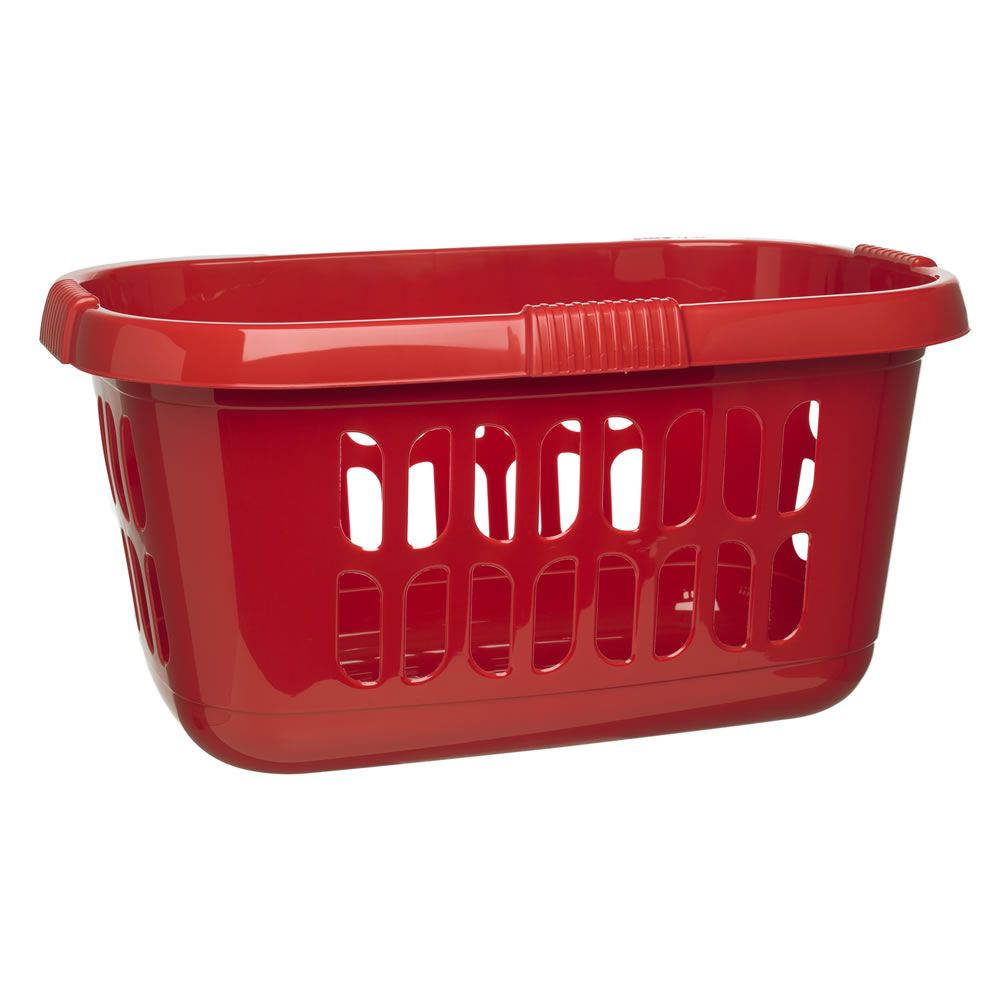 Wilko Laundry Hipster Basket Red Baskets Irons Accessories From Wilkinson Plus