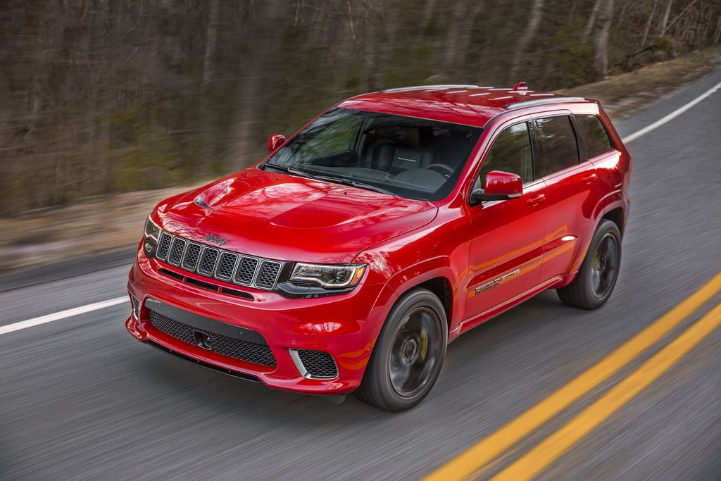 2018 Jeep Grand Cherokee Trackhawk Jeep Grand Cherokee Srt Jeep Grand Cherokee Jeep Grand