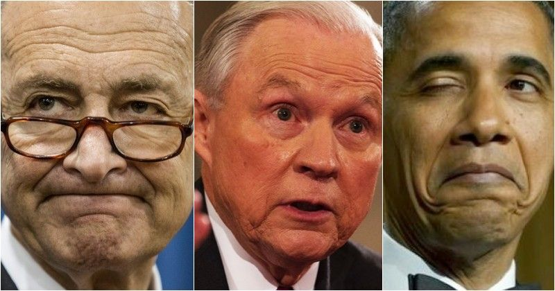 Schumer CALLS For Jeff Sessions To RESIGN, Obama's Lackeys Behind It ALL