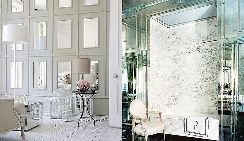 Perfect Mirrors Interiors Designs Idea Fancy Stylish Interior Mirrored Bathroom Mirrors Interiors De Mirror Interior Design Mirror Interior Stylish Interiors