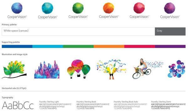 CooperVision品牌形象设计|企业VI|平面设计 - 设计佳作欣赏 - 站酷 (ZCOOL)