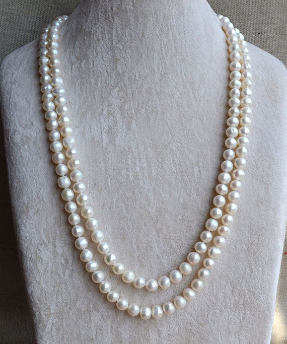 Pearl Necklace, Glass pearl jewelry,wedding gift Teal pearl necklace,10mm pearl necklace,necklace,wedding necklace,bridesmaid  necklace