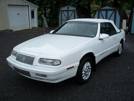 1995 Chrysler Lebaron Gtc Convertible In Windber Pa 15963
