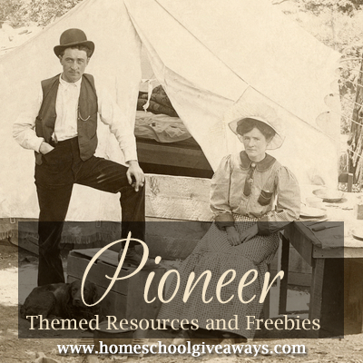Free Pioneer Themed Resources and Freebies (With images