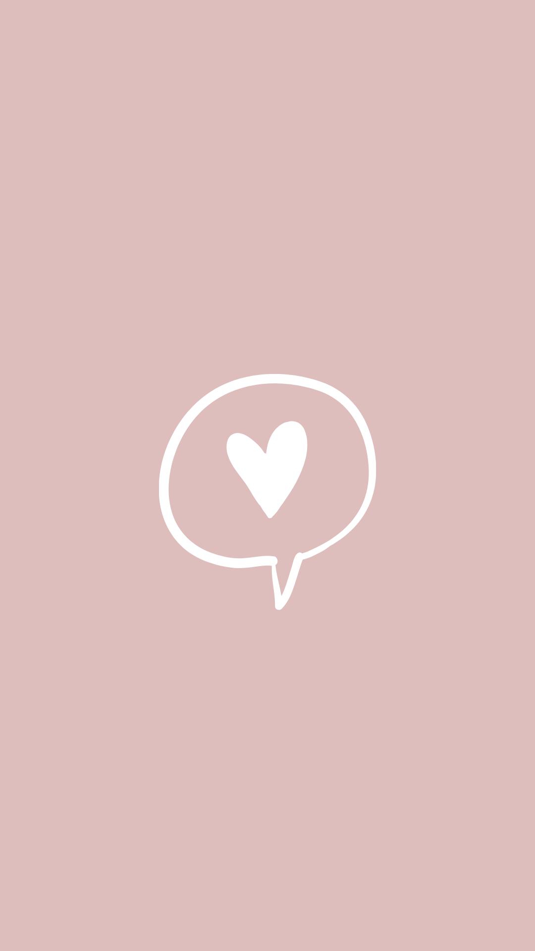 Heart Message Instagram Highlight Cover Pink Instagram Instagram White Cute App