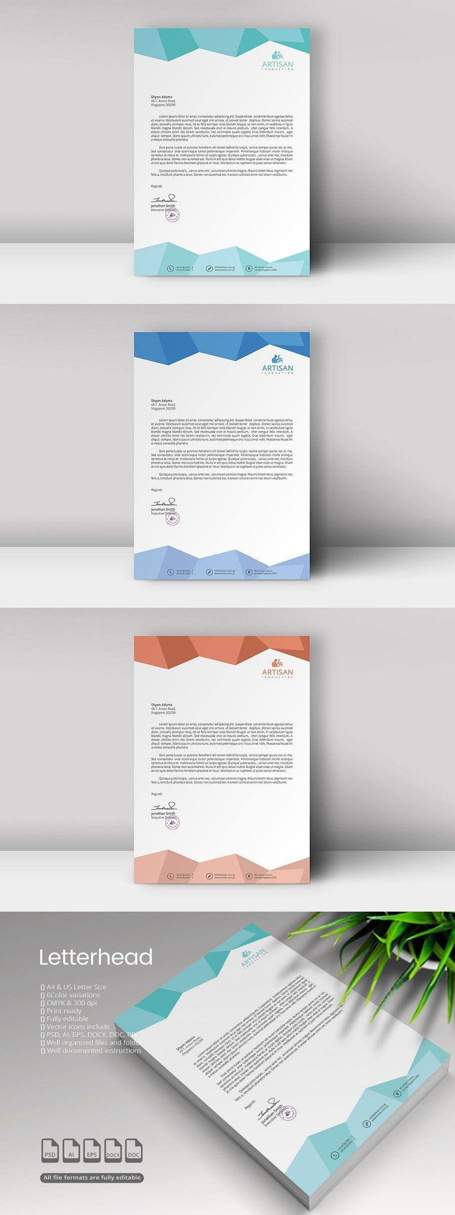 Letterhead Presentation Folder Design Presentation Folder Letterhead