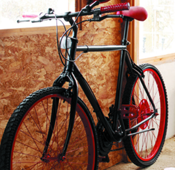 Bicycle Makeover With Plastikote Spray Paint We Used Twist