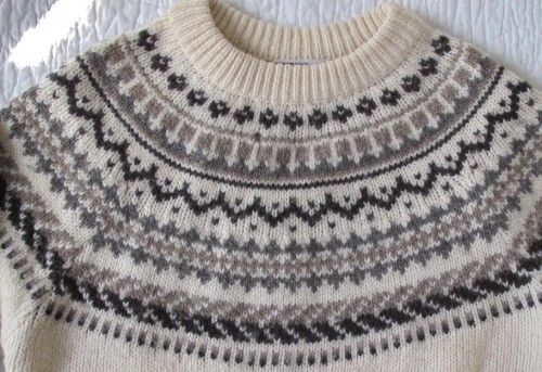 Fair Isle Sweater Patterns Free | 163] Vintage Viking iceland ...