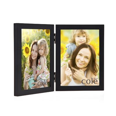 "Philip Whitney Double Wood Picture Frame Size: 5"" x 7"""