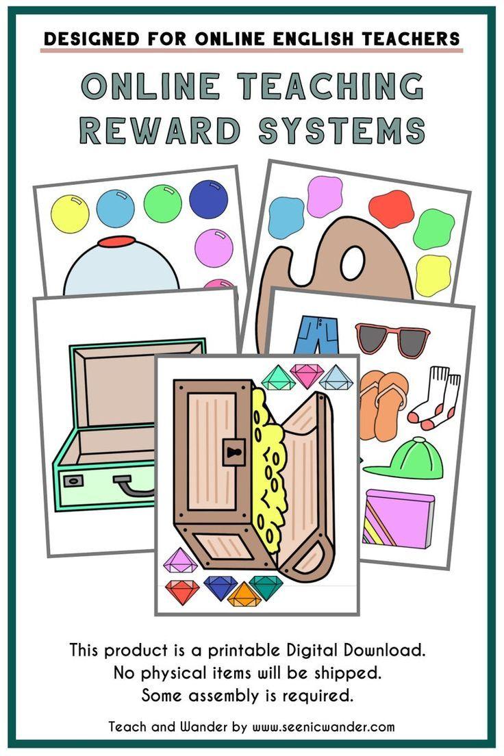 Reward System Pack 1 Printable Reward Systems for Online
