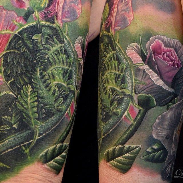 Rose - Nature tattoo