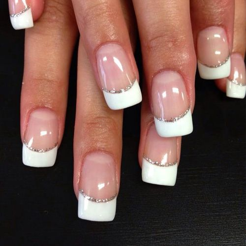 Best French Manicures 71 French Manicure Nail Designs Manicure