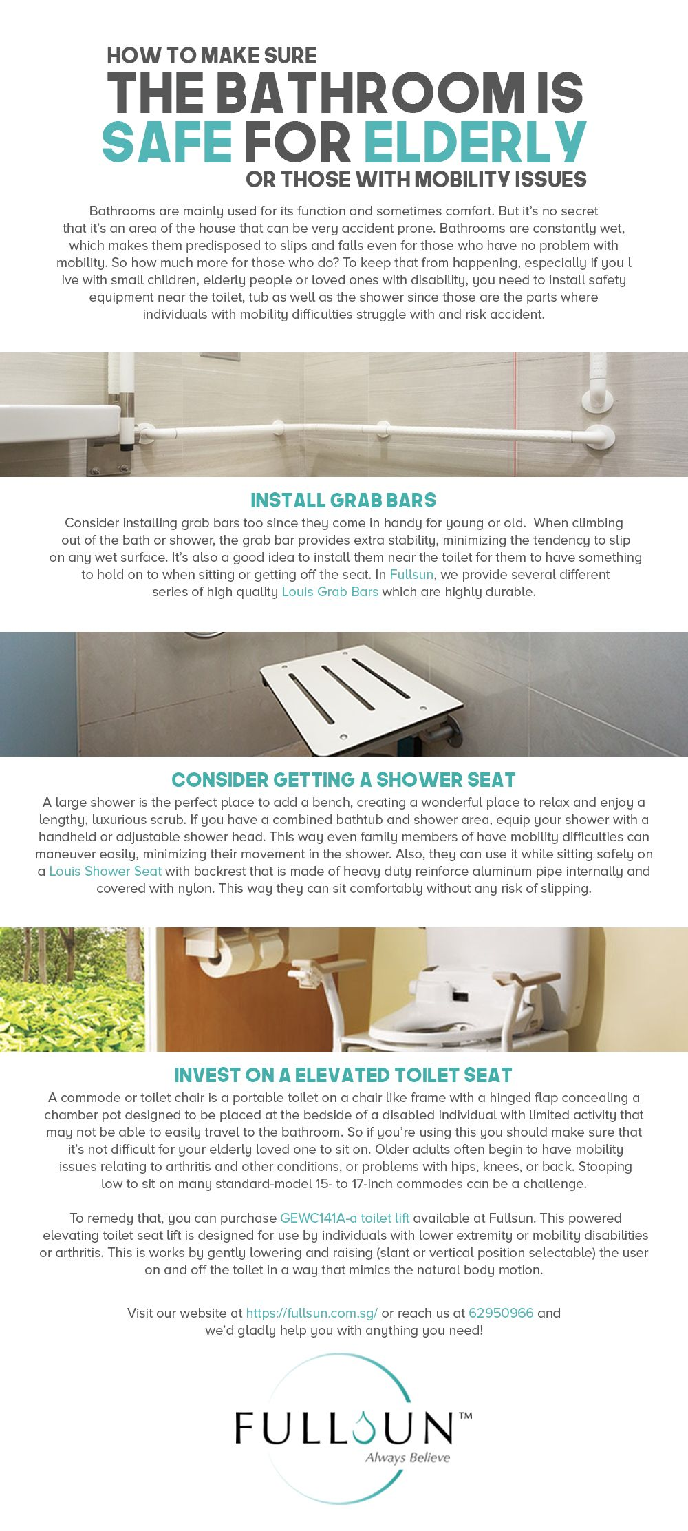 Bathrooms are mainly used for its function and sometimes