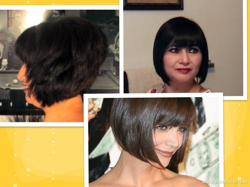 How To Cut Hair At Home Do A Short Stacked Chin Length Bob Haircut