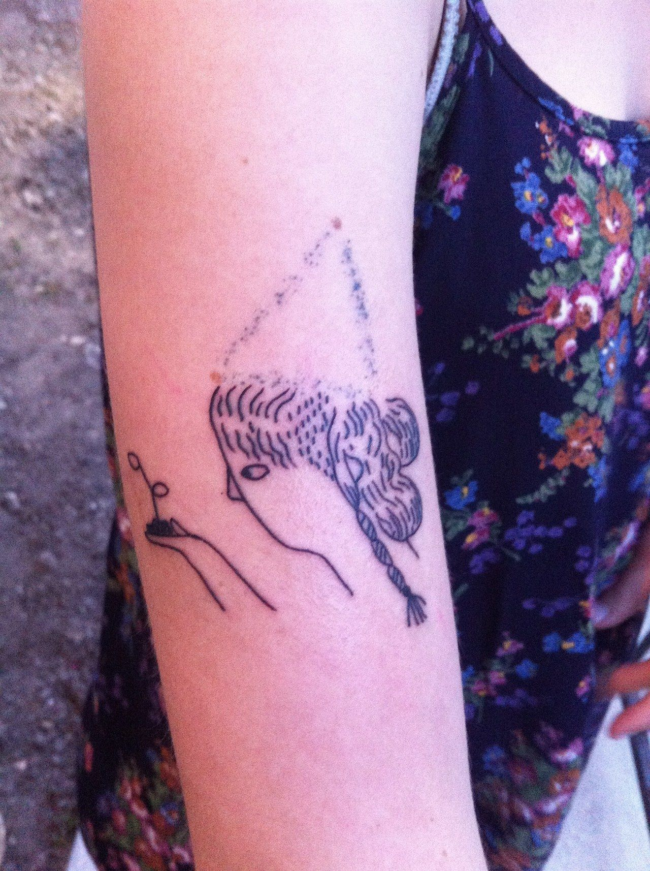 stick and poke tattoo (With images)   Tattoos, Diy tattoo ...