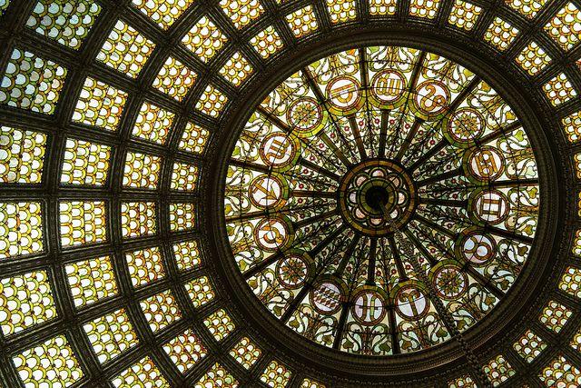 Tiffany Dome @ Chicago Cultural Center