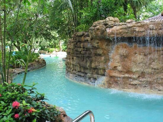 Backyard Lazy River | Lazy river pool, Swimming pool ...