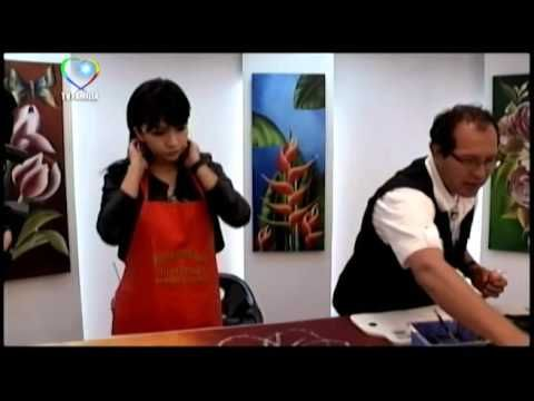 MARAVILLOSO MUNDO PINTURA CON MARIA ANTONIETA 03 - YouTube