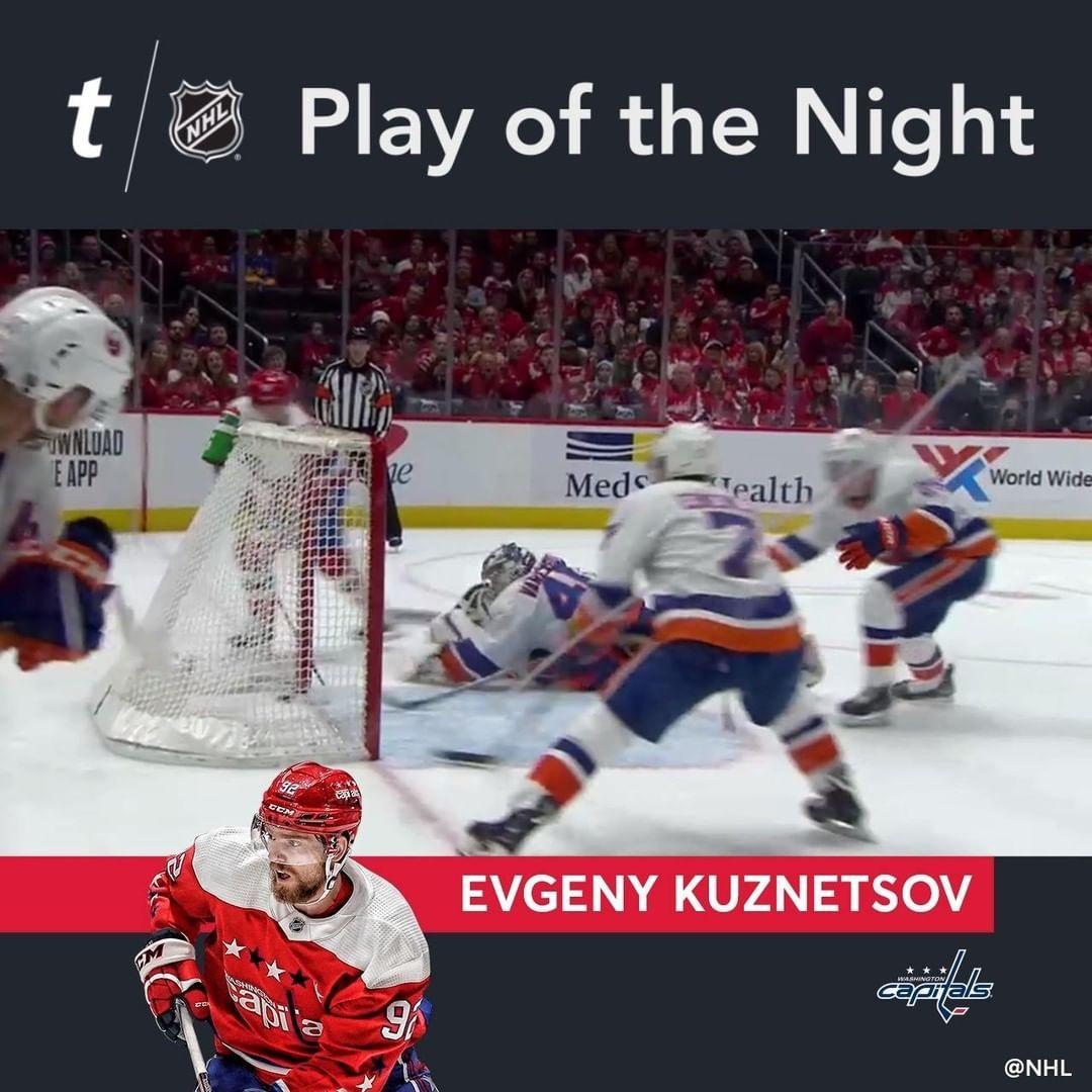 Nhl Evgeny Kuznetsov Kuzy092 Scores In Tight Damon Severson Dseves7 Bring In 2020 National Hockey League Nhl Bring It On