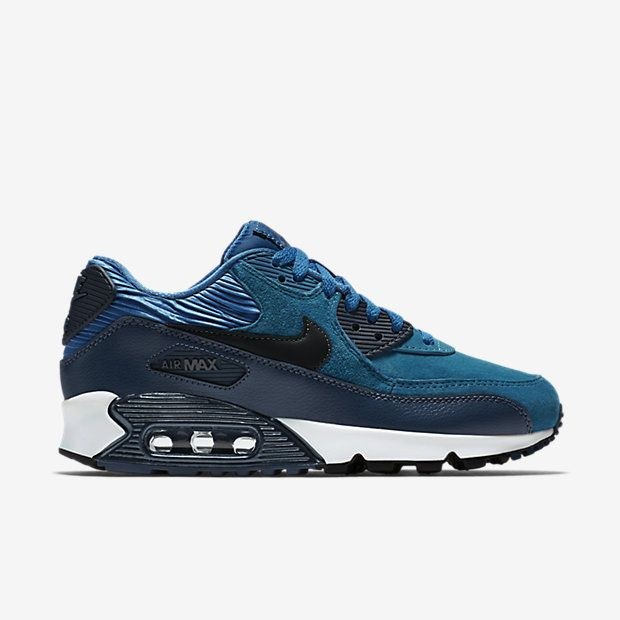 new concept 605c1 a7902 Nike Air Max 90 Leather Zapatillas - Mujer