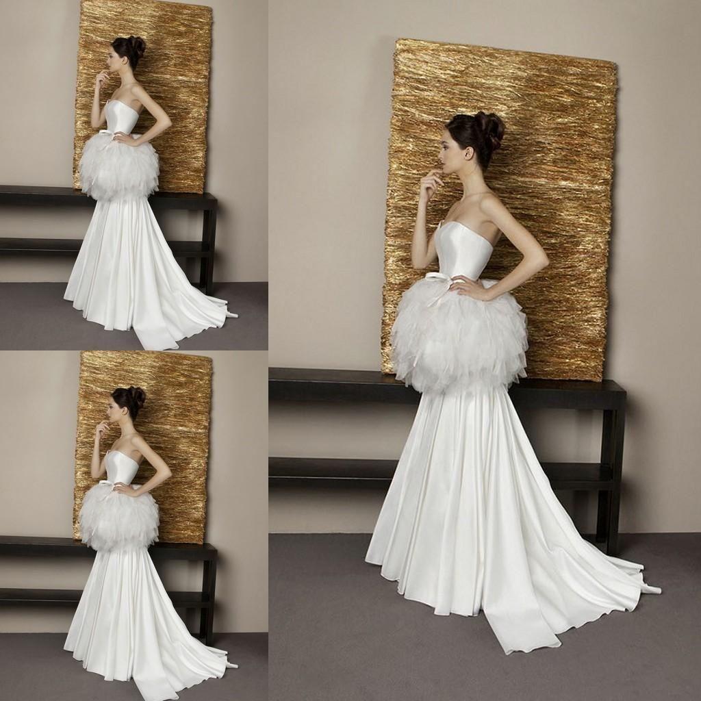 Plus size retro wedding dresses   Vintage Satin Mermaid Wedding Dresses with Latest Fashion