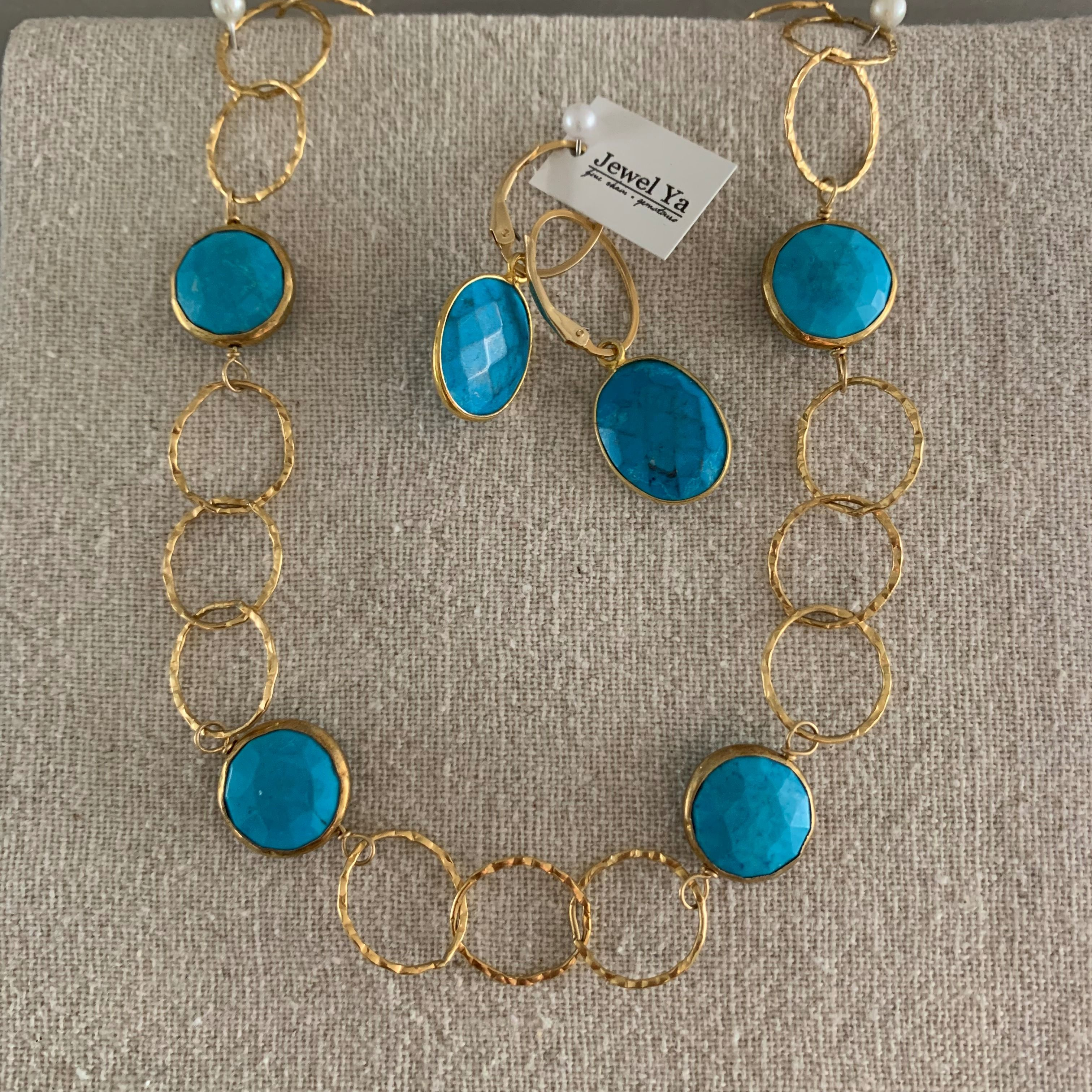 Turquoise Jewelry Set Turquoise Jewelry Set Natural Turquoise Jewelry Jewelry