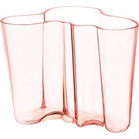 Aalto Vase In Blush Vase Alvar Aalto Vase
