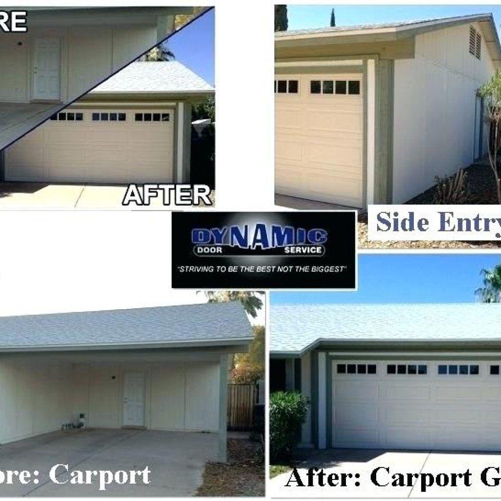 Cost Convert Carport Garage Carport Garage Carport