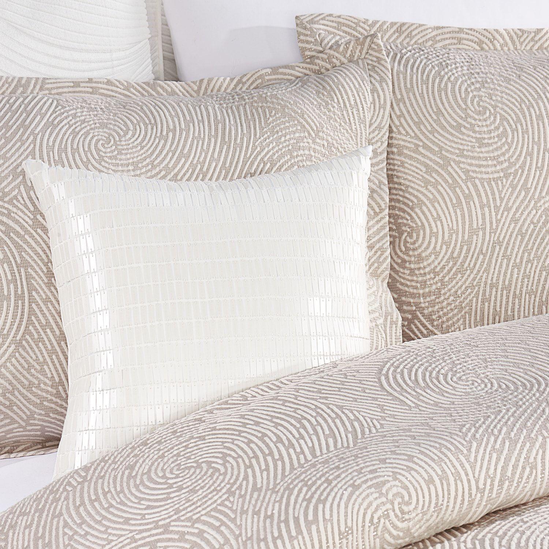 Simply Vera Vera Wang Textured Swirl 3 Piece Duvet Cover Set Wang